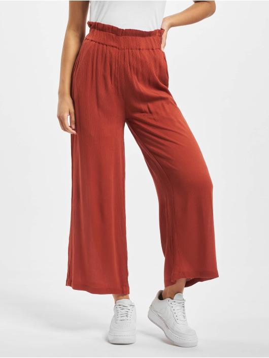 Noisy May Spodnie wizytowe nmFleur Hw S czerwony