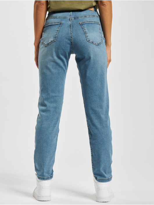 Noisy May Straight Fit Jeans nmLiv blau