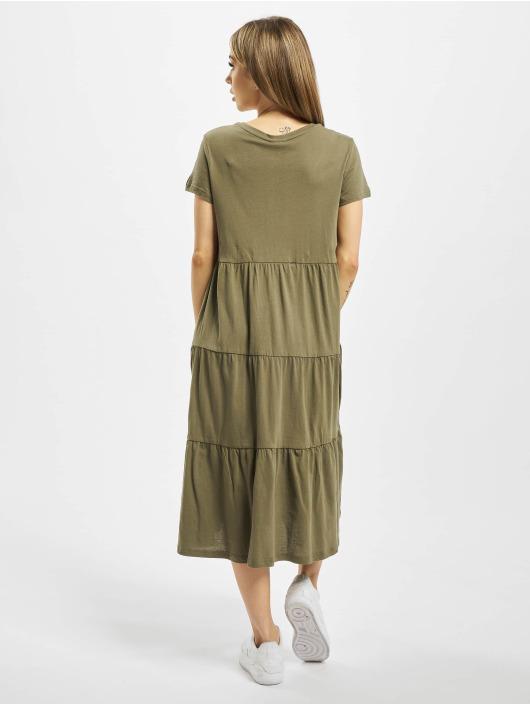 Noisy May Sukienki nmMarble Below Knee zielony