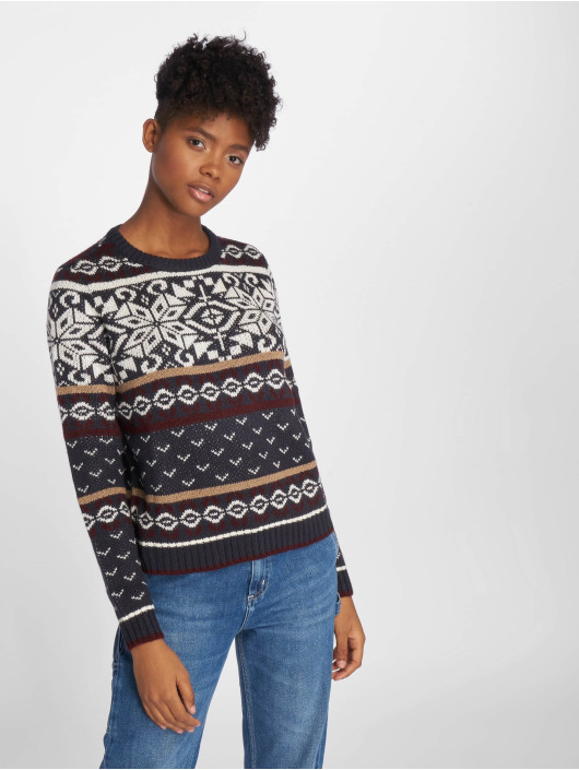 Nmtassy Femme 518783 Pull Bleu May Sweatamp; Noisy Knit vmwN8n0