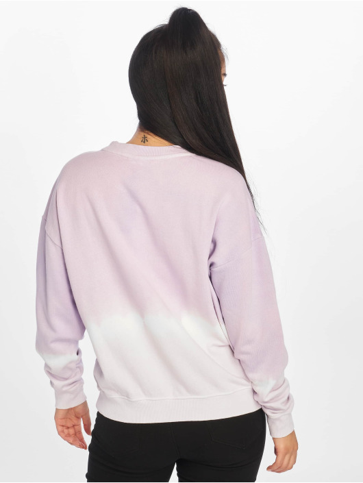 Noisy May Sweat & Pull nmChris Dip Dye pourpre