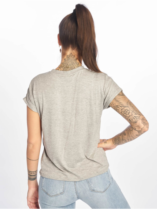 Noisy May T-Shirt nmNola grey