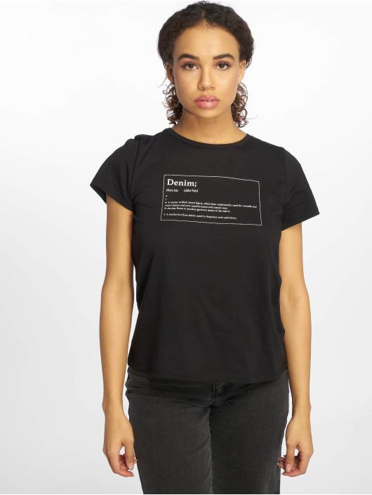 shirt Noisy T Noir May Dictionary Nmnateure Femme 597269 cR3LAj5q4S