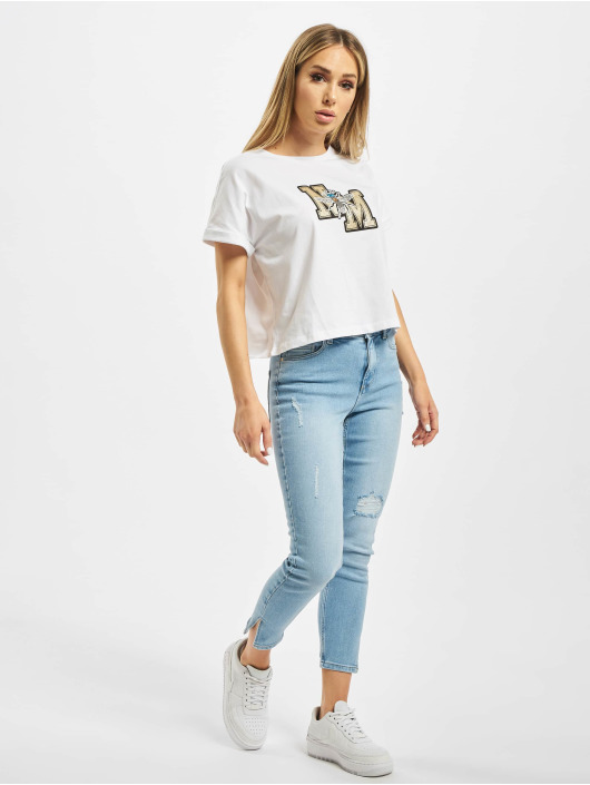 Noisy May T-Shirt nmMacie weiß