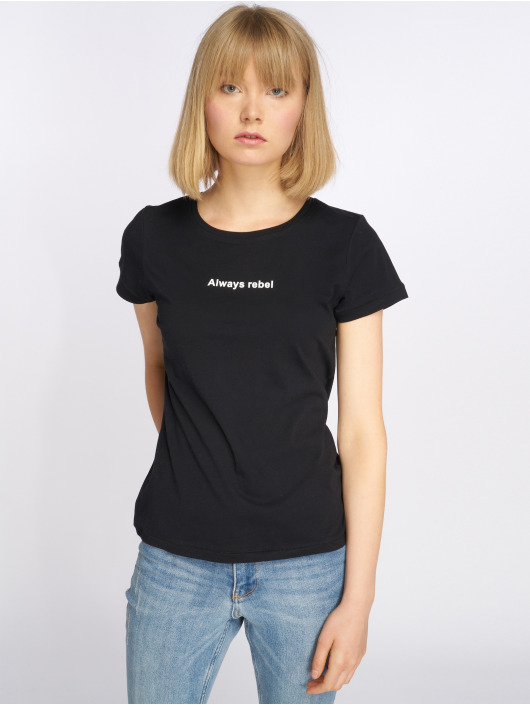 Noisy May T-Shirty nmNate Printed czarny