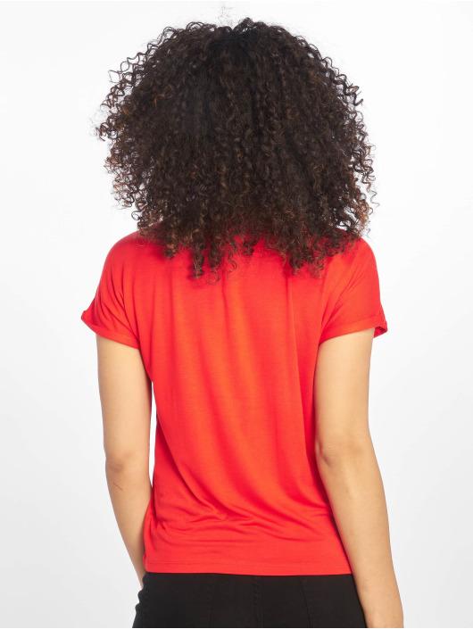 Noisy May T-Shirty nmNola czerwony