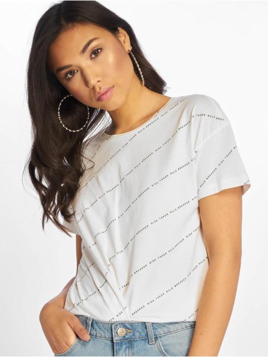 Noisy May T-skjorter nmAlfred Risk Taker hvit