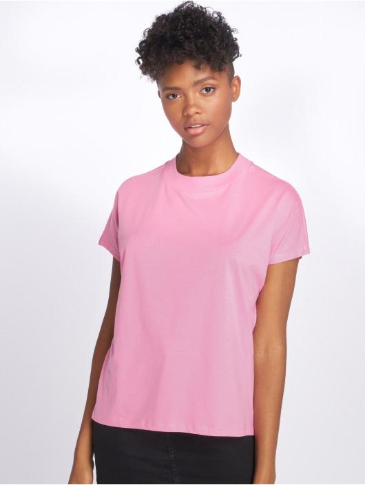Noisy May T-skjorter nmHelen Hi-Lo lyserosa