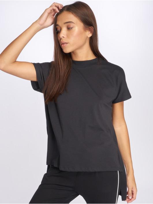 Noisy May T-skjorter nmHelen Hi-Lo svart