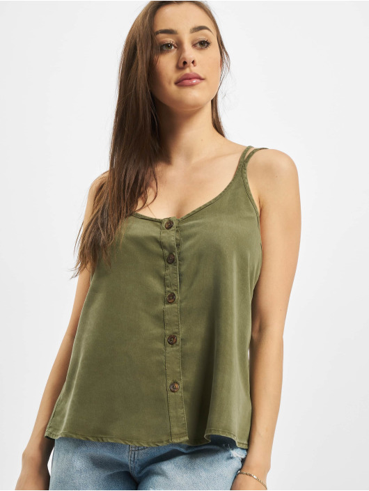 Noisy May Top nmMaisie Endi Strap olive