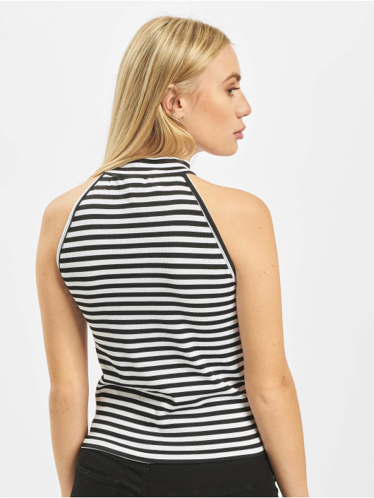 Noisy May Top nmPili High Neck white