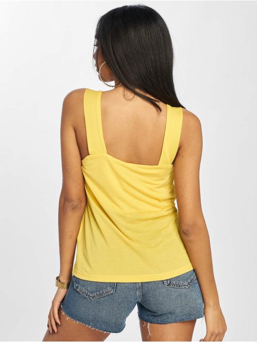 Noisy May Top nmAida Cami yellow