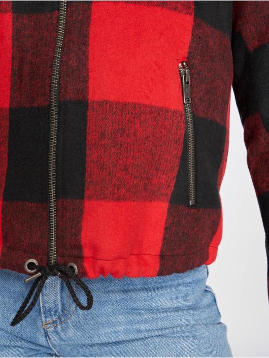 Noisy May Transitional Jackets nmTina red