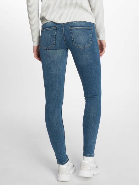 Noisy May Tynne bukser nmEve Organic blå