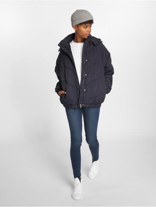 Noisy May Winter Jacket nmAnja blue