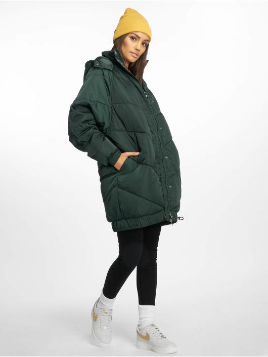 Noisy May Winter Jacket nmAnja green