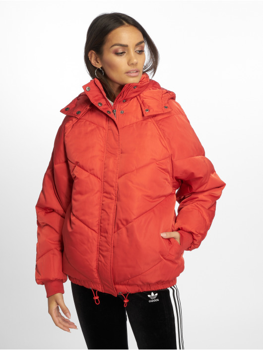 Noisy May Winter Jacket nmAnja red