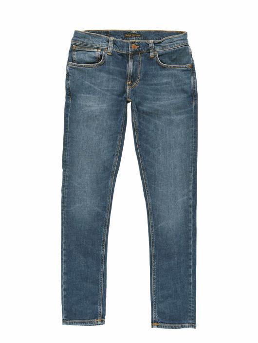 Nudie Jeans Jeans ajustado Tight Terry azul
