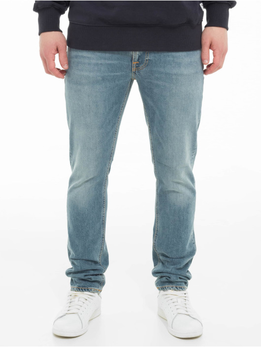 Nudie Jeans Slim Fit Jeans Lean Dean blau