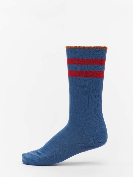 Nudie Jeans Socken Amundsson Sport blau