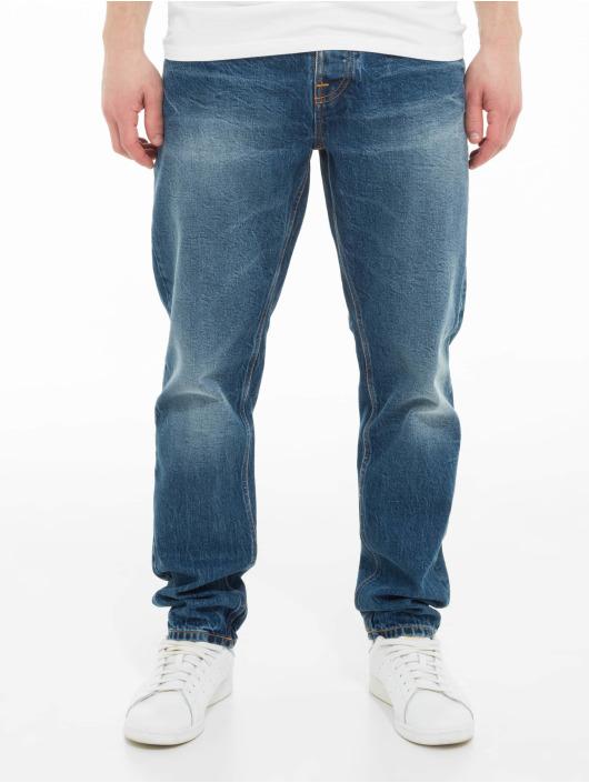 Nudie Jeans Straight Fit Jeans Steady Eddie Ii blau