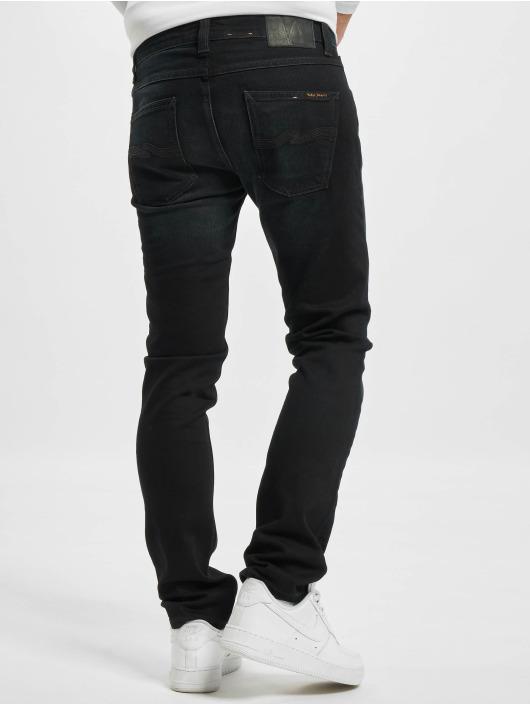 Nudie Jeans Straight Fit Jeans Grim Tim blue