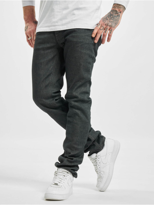 Nudie Jeans Straight Fit Jeans Grim Tim gray