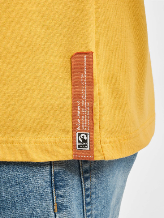 Nudie Jeans T-Shirt Basic gelb