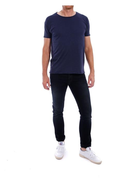 Nudie Jeans Tričká  modrá