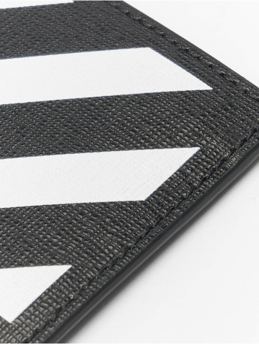 Off-White Кошелёк Diag Cardholder черный