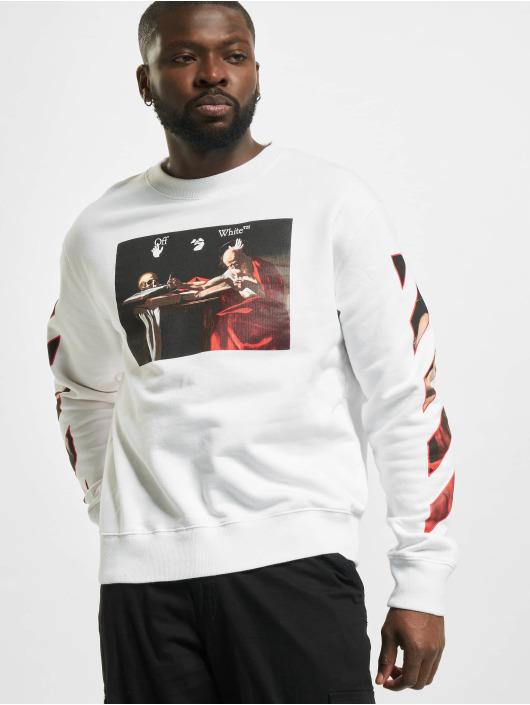 Off-White Пуловер Caravaggio Slim белый