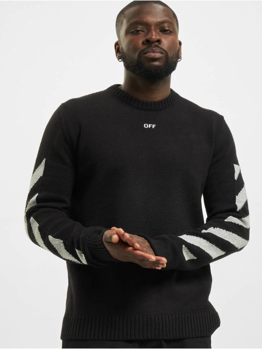 Off-White Пуловер Arrow черный