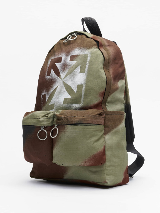 Off-White Рюкзак Arrow Print // Warning: Different return policy – item can not be returned коричневый