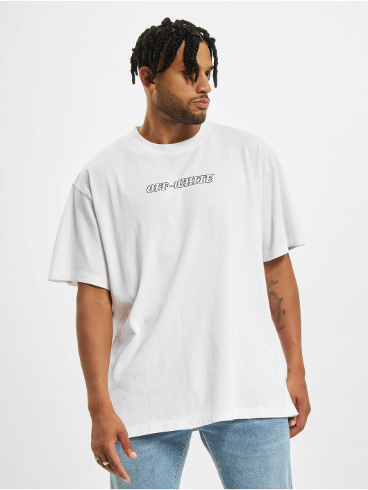 Off-White Футболка Pascal S/S Over белый