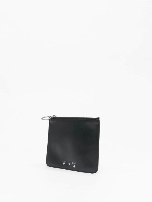 Off-White Bag OW Logo Flat Pouch black