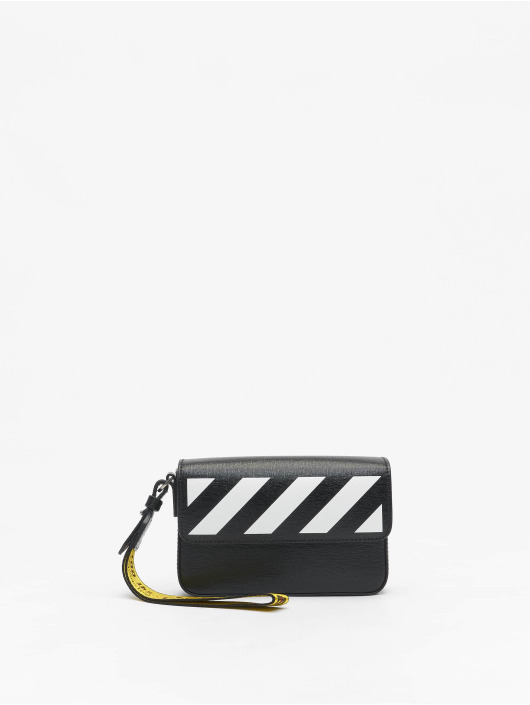 Off-White Bag Saffiano Clutch black