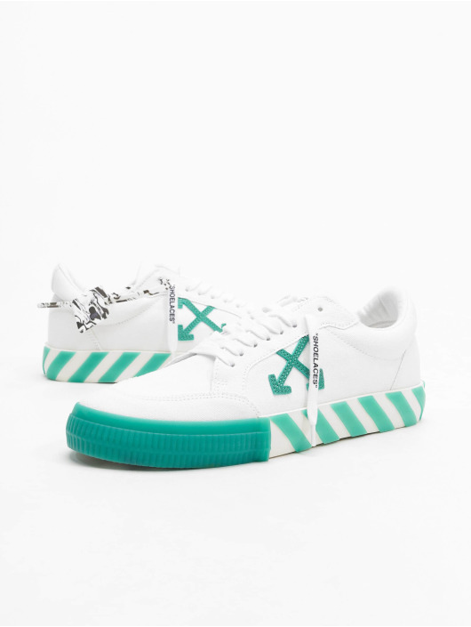 Off-White Baskets Low Vulcanized Canvas blanc