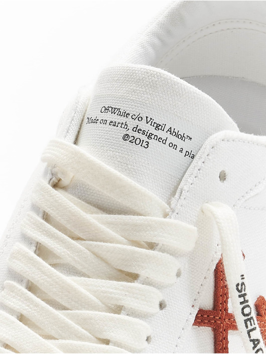 Off-White Baskets Low Vulcanized blanc