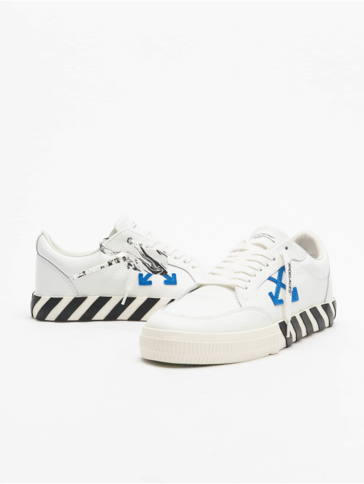 Off-White Baskets Low Vulcanized Calf Leather blanc