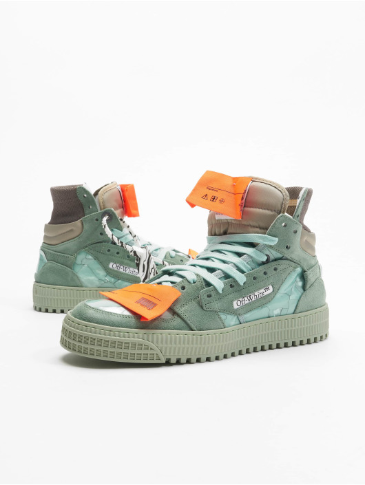 Off-White Baskets Off Court vert