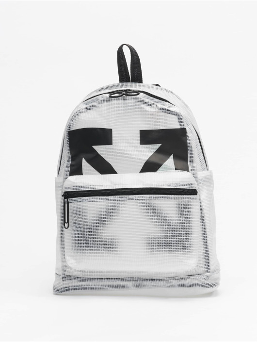 Off-White Batohy Arrow PVC // Warning: Different return policy – item can not be returned bílý