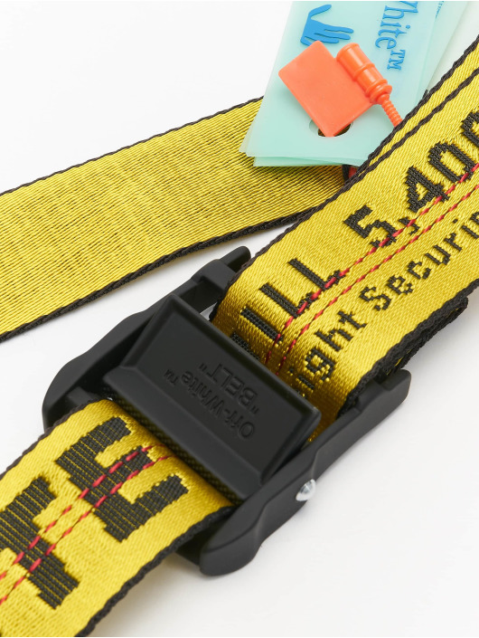 Off-White Belts Classic Industrial gul