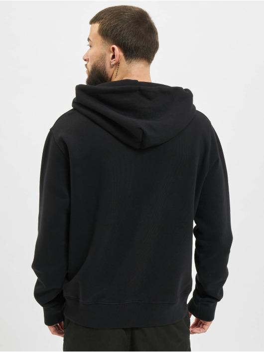 Off-White Bluzy z kapturem Logo czarny