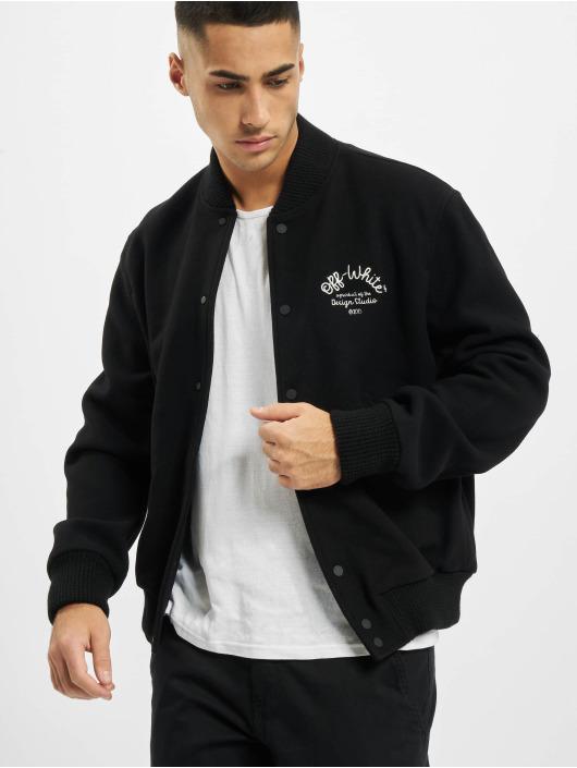 Off-White Bomber jacket Arrow Varsity black