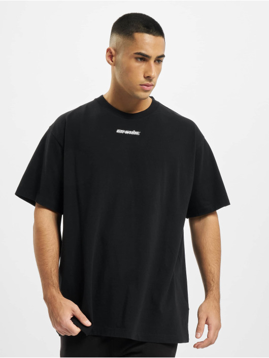 Off-White Camiseta Marker S/S azul