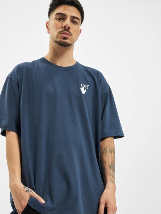 Off-White Camiseta Agreement azul