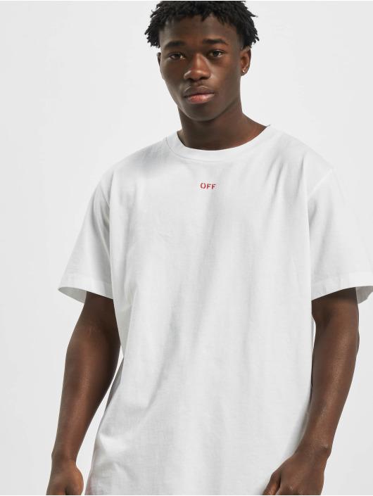 Off-White Camiseta Stencil S/S blanco