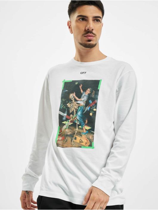 Off-White Camiseta de manga larga Pascal blanco