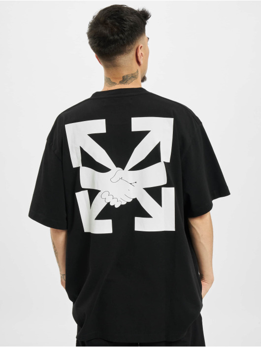 Off-White Camiseta Agreement negro