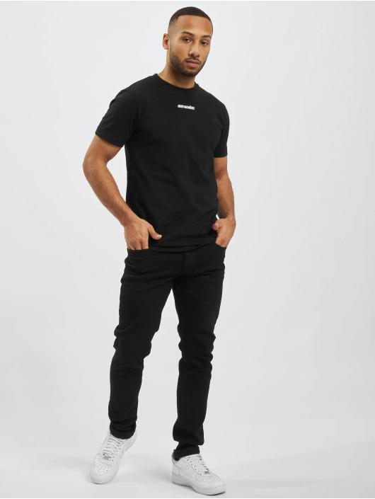 Off-White Camiseta Marker S/S Over negro